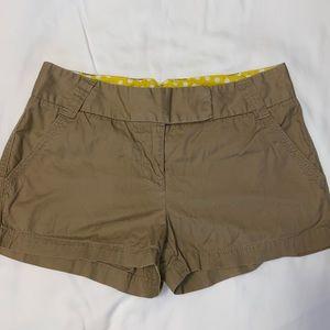 J.Crew Weathered Broken In Chino Shorts